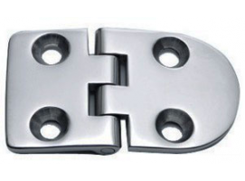 70 x 40 mm Inox Hinge 95 Degrees Opening