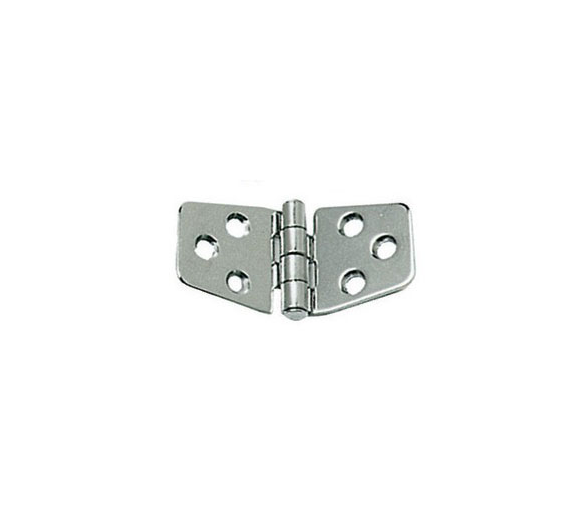 2 mm Thickness 74 x 37 mm Stainless Steel Hinge