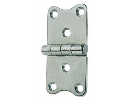 2 mm Thickness 75 x 40 mm Stainless Steel Hinge