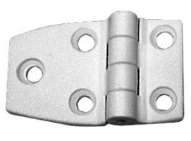 54 x 38 mm White Nylon Hinge