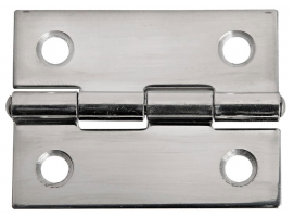 38 x 51 mm Stainless Steel Rectangular Hinge