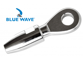 Blue Wave Swageless Eye Terminal Blue Wave