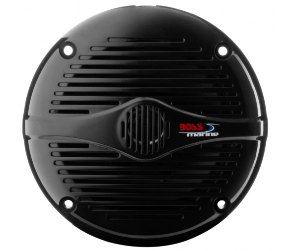 150W Boss Marine 2 Way Black Coaxial Marine Speaker