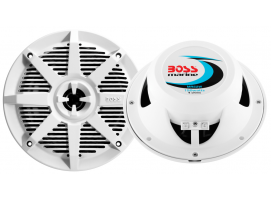 150W Boss Marine White 2 Way Coaxial Marine Speaker MR50W