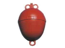 Mooring Buoy Red Double Hole