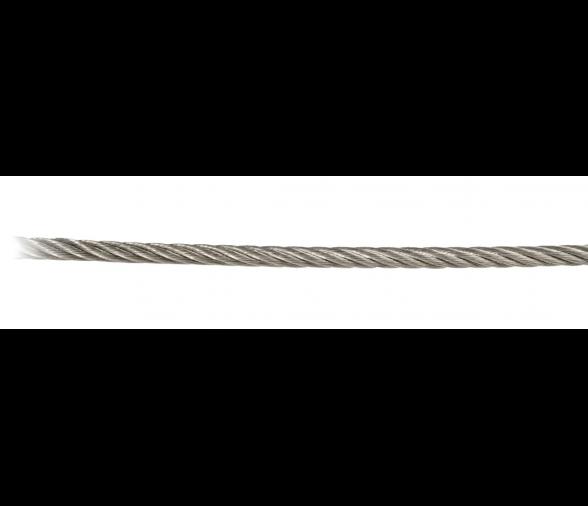 Couronne 19m 70 m 50 m 20 m 100 m 1 Rollo de 100 m y 250 m FP INOX Cable de Acero Inoxidable 316 Flexible de 5 mm x 7 mm de Longitud y 10 m