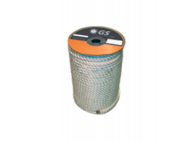White Mooring and Anchoring Rope