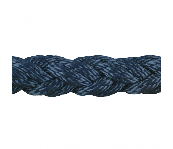 Polyester Double Twisted Rope 8 Strand Blue Colour