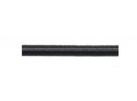 Elastic Black Rope 8mm