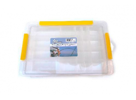 Fishing Box with Transparent Lid Lalizas