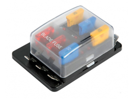 Fuse Holder Box with LED Warning Lights