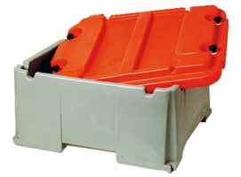 BATTERY BOX 120 to 200Amp. 2 Batteries