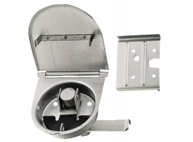 Bolt handle with cover stainless steel 110x100 mm