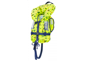 Typhoon 100N Yellow Shark Children's Life Jacket