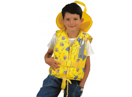 Lifejacket Typhoon 100N Yellow Igloo Child Plastimo
