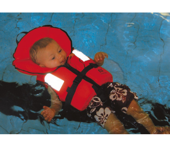 Children Lifejacket Typhoon 100 N Orange No Pattern Plastimo