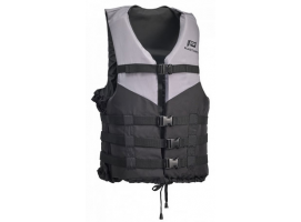 70N Silver-Black Passion Buoyancy AID Lifejacket