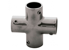 Stainless Steel 90 Degree Cross Connector