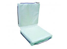 White Double Buoyant Deck Cushion