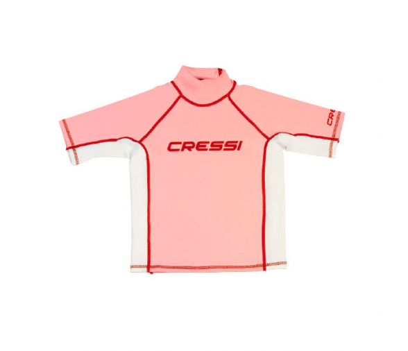 Cressi Rash Guard Bambina Pink T-shirt