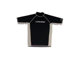 Cressi Rash Guard Uomo Black T-shirt