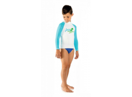 Cressi Rash Guard Bambino Blue Shirt