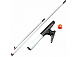 Telescoping 3-section Boat Hook, 38 in. to 8 ft long (100 to 240 cm)