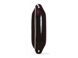 Black Performance Fender with Rope Plastimo