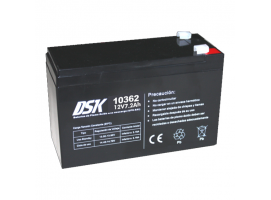 DSK Battery AGM 7.2Ah