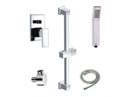 Square Shower Rail