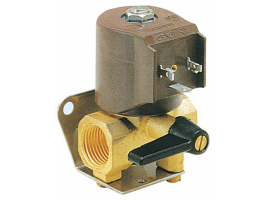 Electro-valve of fuel with emergency control