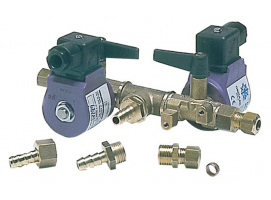 Electro-valve of fuel Double stop-idle