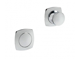 Convex Knob and Ring for Spring Locks