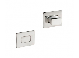 Rectangular Knob and Ring for Spring Locks