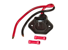 Trolling motor plug and socket Male 12V