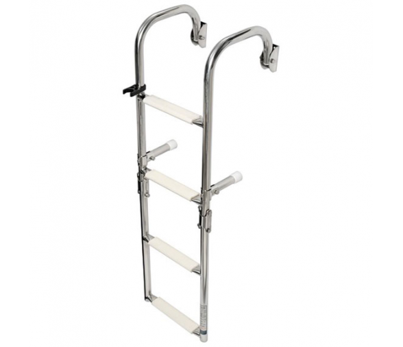 Foldable Ladder with Arch Mounting Arms