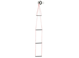 Recess 3-Step Emergency Ladder with nut