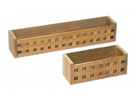 Teak multipurpose container type grid