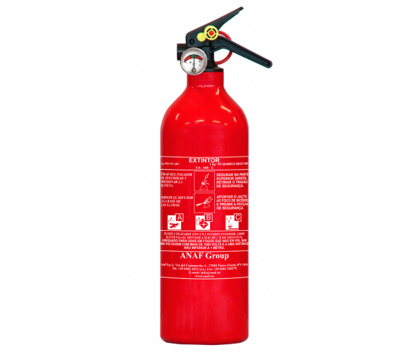 Manual ABC 1 Kg Fire Extinguer