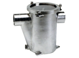 Stainless steel water cooling engine filter