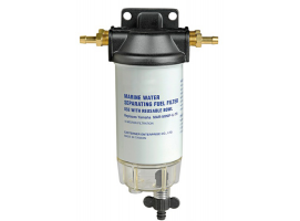 Petrol filter with water-fuel separator