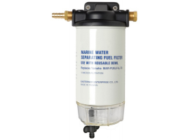 Petrol filter with water-fuel separator high capacity