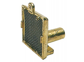 Vertical Suction filter chromed brass