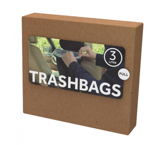 Flextrash Biodegradable Trash Bag 3L