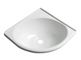 Angle sink made white ABS