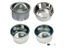 Round sink stainless steel
