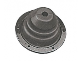 Black ABS Ring Nut with Bellows