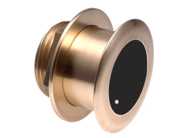 B175H 130-210 KHz 1Kw Bronze Thru-Hull Transducer