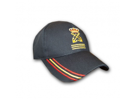 Yatch Captain with Spain Flag Cap