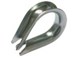 THIMBLE ZINC PLATED VINOX